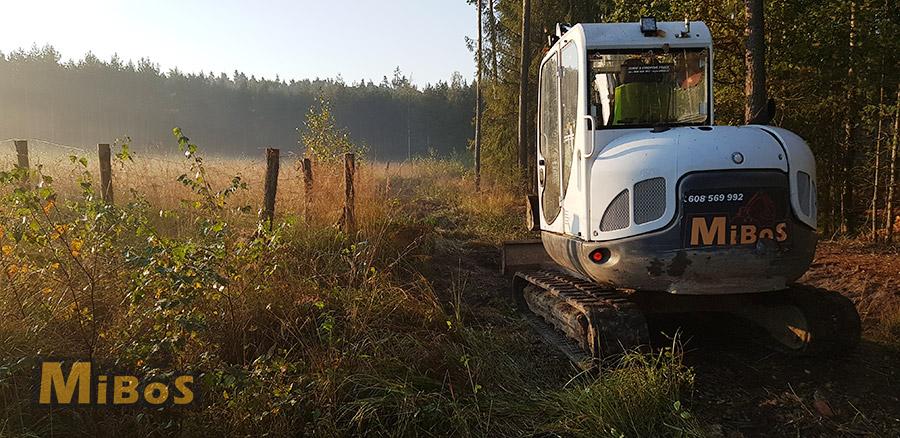 výstavba lesních cest